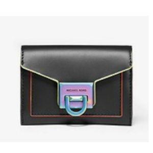 Michael Kors Neon Contrast Wallet